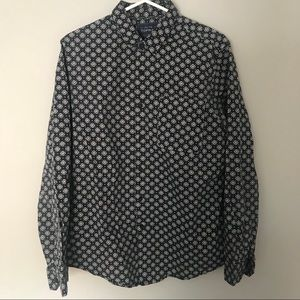 Classic fit button up shirt